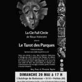 The Fate's Tarot - Poster of performance at AubArge Badassac - 2016